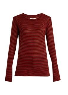 Isabel Marant Étoile Aaron striped linen-blend T-shirt