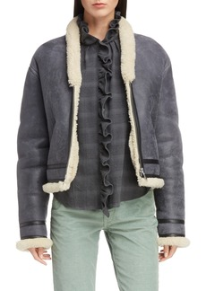 Isabel Marant Étoile Addy Genuine Shearling Jacket