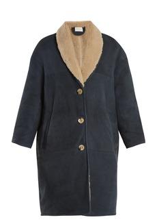 Isabel Marant Étoile Alan shawl-lapel shearling coat