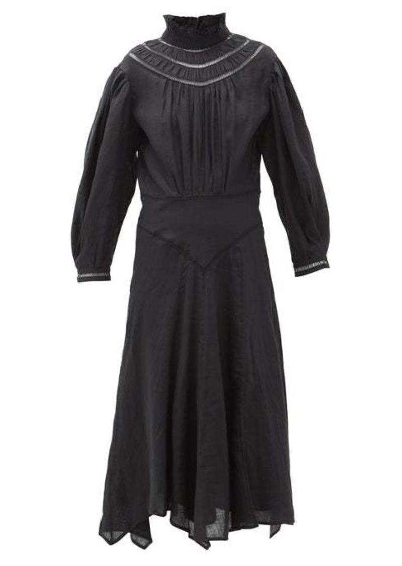 Isabel Marant Étoile Albane handkerchief-hem linen dress
