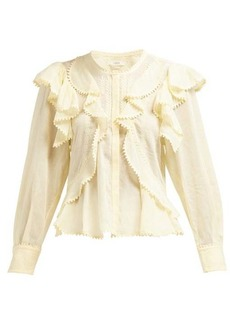 Isabel Marant Étoile Alea ruffled cotton blouse