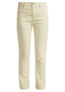 Isabel Marant Étoile Aliff cotton-blend girlfriend trousers