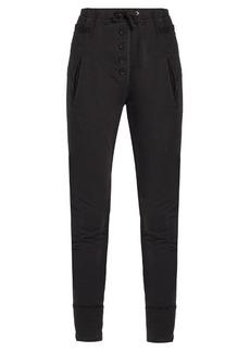 Isabel Marant Étoile Angele cotton-jersey skinny-leg track pants