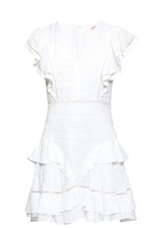 Isabel Marant Étoile Audrey ruffled linen mini dress