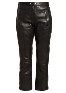 Isabel Marant Étoile Aya cropped leather trousers