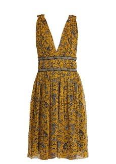 Isabel Marant Étoile Balzan floral-print silk-chiffon dress