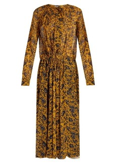 Isabel Marant Étoile Baphir floral-print silk-chiffon midi dress