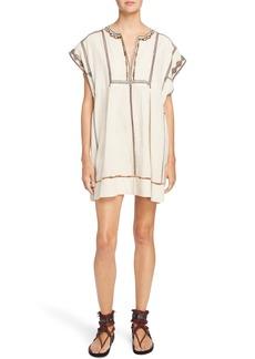 Isabel Marant Étoile Belissa Embroidered Shift Dress