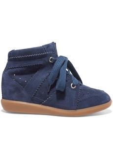 Isabel Marant Étoile Bobby suede wedge sneakers