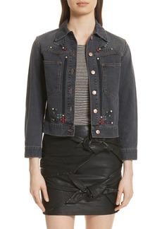 Isabel Marant Étoile Cabella Embellished Denim Jacket