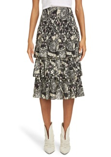 Isabel Marant Étoile Cencia Tiered Skirt