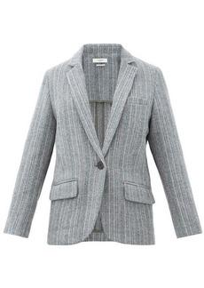 Isabel Marant Étoile Charly single-breasted wool blazer