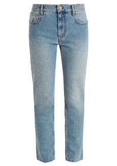 Isabel Marant Étoile Cliff high-rise straight-leg cropped jeans