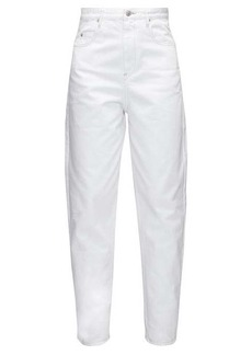 Isabel Marant Étoile Corsy high-rise tapered-leg jeans