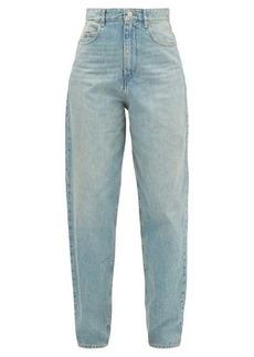 Isabel Marant Étoile Corsy oversized cotton-denim jeans