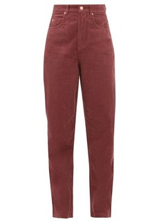 Isabel Marant Étoile Corsyv cotton-corduroy straight-leg trousers