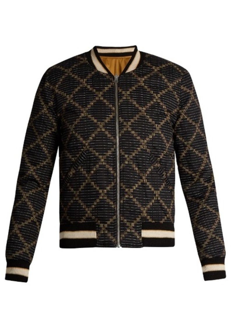 Isabel Marant Étoile Dabney reversible cotton bomber jacket