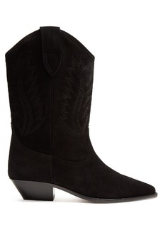 Isabel Marant Étoile Dallin leather Western boots