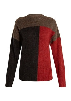 Isabel Marant Étoile Davy colour-block knit sweater