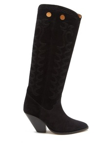 Isabel Marant Étoile Deyita suede Western boots