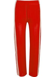 Dobbs striped jersey track pants