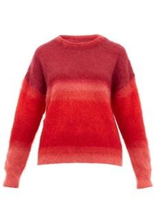 Isabel Marant Étoile Drussell ombré-stripe mohair-blend sweater