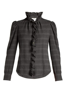 Isabel Marant Étoile Dules ruffled cotton-twill shirt