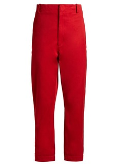 Isabel Marant Étoile Dysart high-rise chino trousers