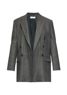 Isabel Marant Étoile Eagen checked double-breasted blazer