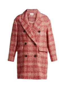 Isabel Marant Étoile Ebra double-breasted wool-blend coat