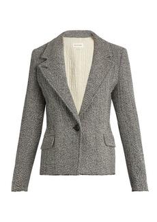 Isabel Marant Étoile Ela raw-hem herringbone jacket