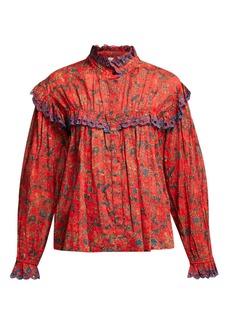 Isabel Marant Étoile Elmira floral-print cotton blouse