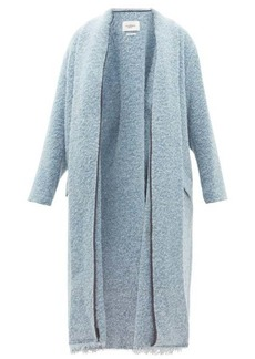 Isabel Marant Étoile Faby raw-hem bouclé coat