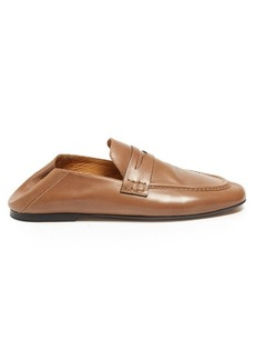 Isabel Marant Étoile Fanzel collapsible-heel leather loafers