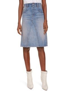 Isabel Marant Étoile Fiali Denim Pencil Skirt
