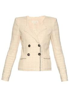 Isabel Marant Étoile Flenn collarless tweed jacket