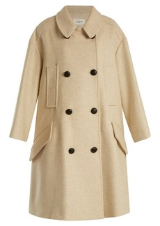 Isabel Marant Étoile Flicka double-breasted wool-blend coat