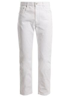 Isabel Marant Étoile Fliff high-rise slim-leg cropped jeans