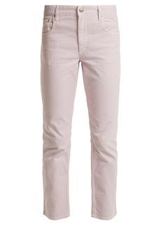 Isabel Marant Étoile Fliff mid-rise straight-leg jeans