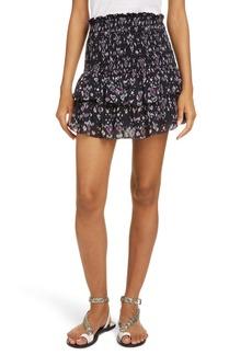 Isabel Marant Étoile Frinley Smocked Miniskirt