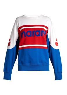 Isabel Marant Étoile Gallian logo sweatshirt
