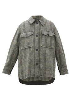 Isabel Marant Étoile Garvey checked wool jacket