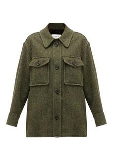 Isabel Marant Étoile Garvey wool shirt jacket