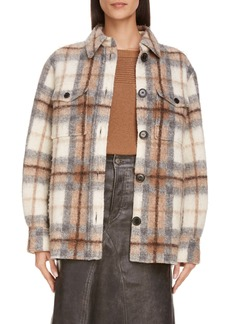 Isabel Marant Étoile Gastoni Plaid Coat