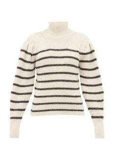Isabel Marant Étoile Georgia striped alpaca-blend sweater