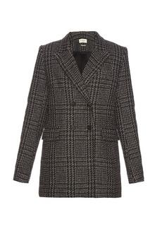 Isabel Marant Étoile Gilane double-breasted tweed jacket