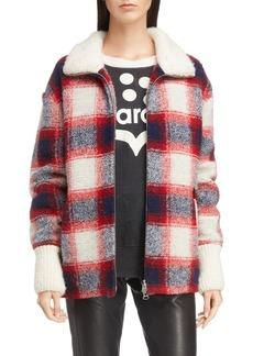 Isabel Marant Étoile Gimo Check Wool Blend Jacket