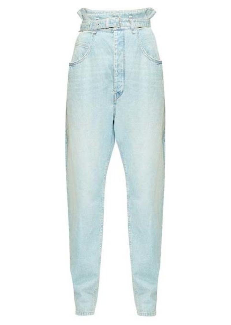 Isabel Marant Étoile Gloria paperbag-waist jeans