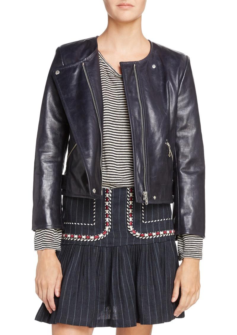 528f1790f7e Isabel Marant Isabel Marant Étoile Grinly Leather Jacket | Outerwear