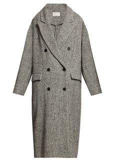 Isabel Marant Étoile Habra double-breasted overcoat